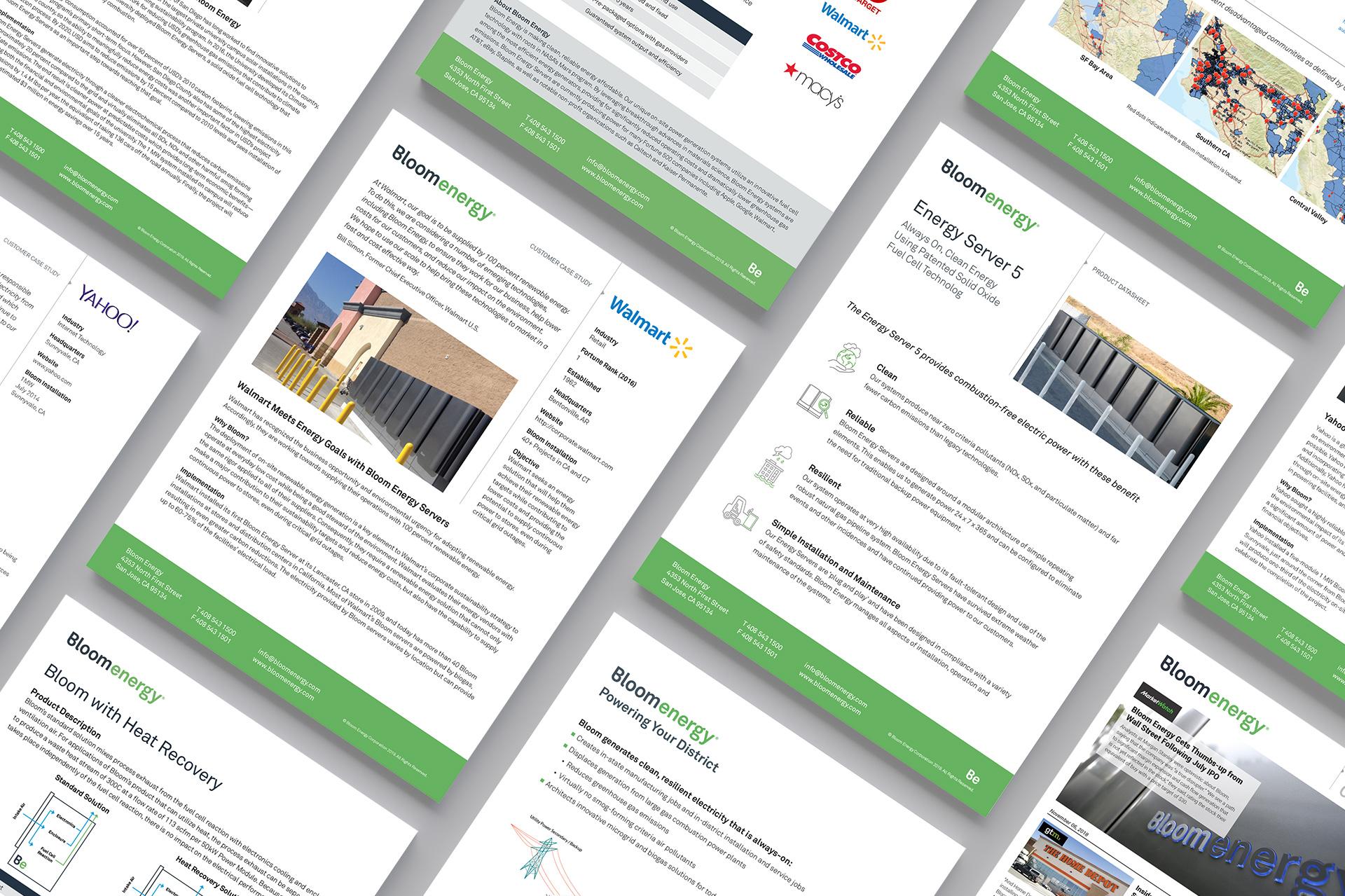 Bloomenergy Document Templates