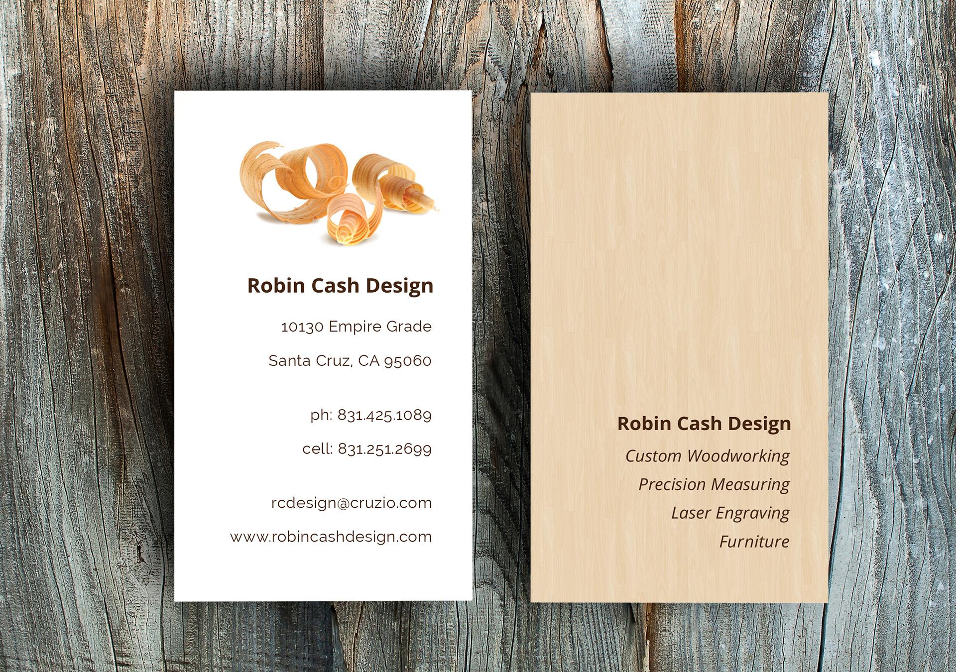 Robin Cash Business Card