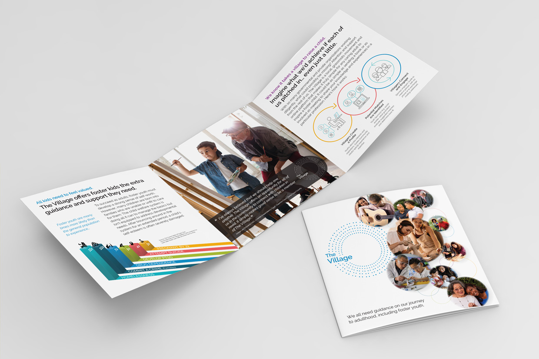 The Caring Village Brochure - Tri-fold
