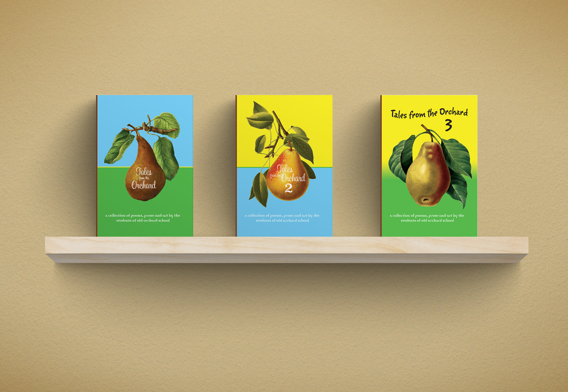 Old Orchard Book Covers