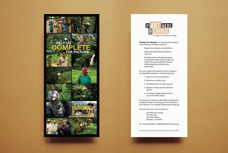AWFC - Partners for Change Postcard
