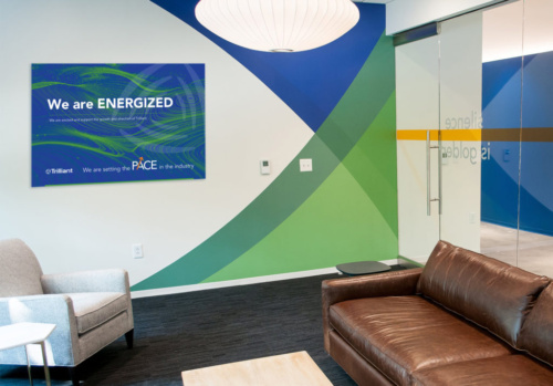 Trilliant Poster for Office - We are Energized