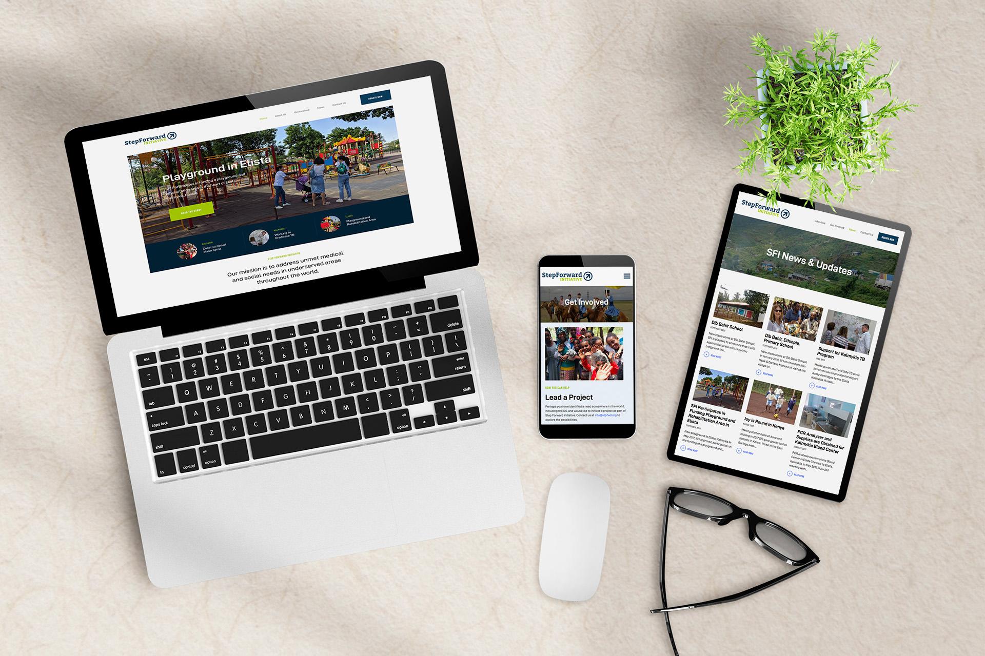 Step Forward Initiative Website
